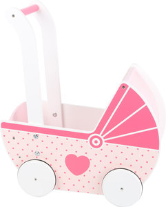 Houten poppenwagen Girls' Dream
