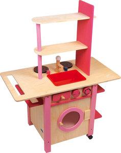 """Speelkeukentje - """"All in One"""", roze"""