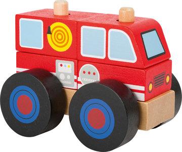 Bouwvoertuig -  Brandweerwagen - FSC
