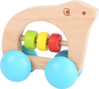 Bear on Wheels - grijpspeelgoed