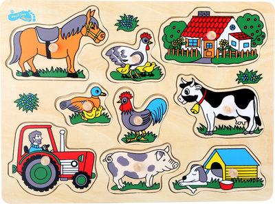 """Puzzel """"Op de boerderij"""""""