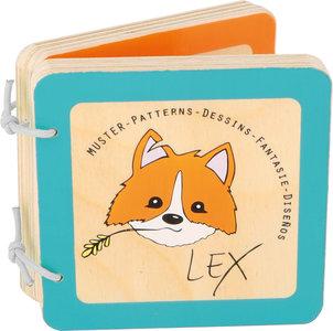 Lex de vos - Baby boekje (patronen)