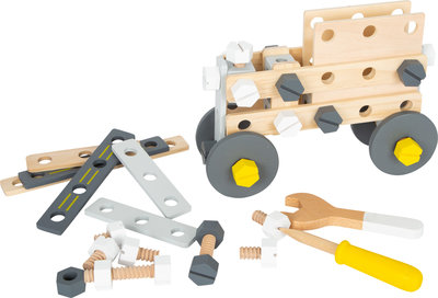 Houten constructie set 'Miniwob'