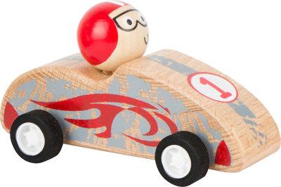 Red Race auto - terugtrek auto -  FSC