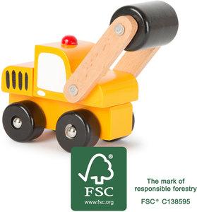Snelweg bouwauto - FSC