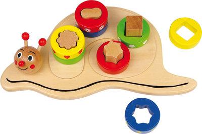 Sorteer + blokken - puzzel - Slakkenhuisje