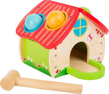 """Hamerbank """"Huis"""" - Kleuren ballen"""