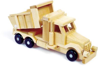 De kleine zandtruck - hout