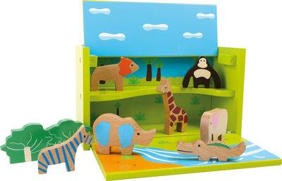 Dierentuin speelbox